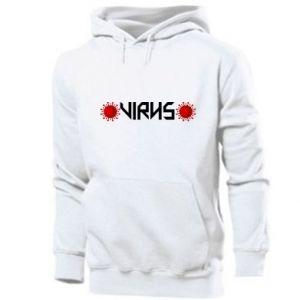 Men's hoodie Virus
