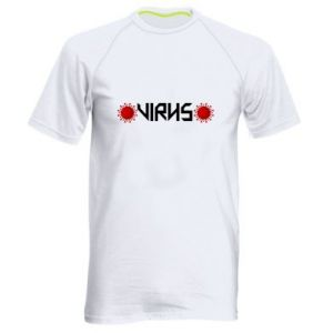 Męska koszulka sportowa Wirus