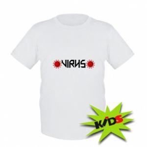 Dziecięcy T-shirt Wirus