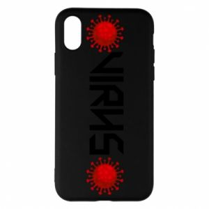 Phone case for iPhone X/Xs Virus