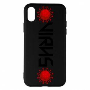 iPhone X/Xs Case Virus