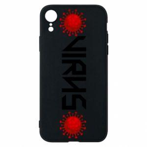 Phone case for iPhone XR Virus