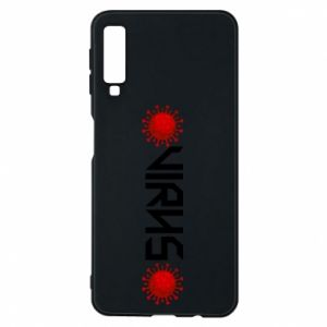 Phone case for Samsung A7 2018 Virus