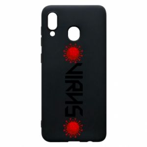 Phone case for Samsung A20 Virus
