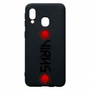 Phone case for Samsung A40 Virus