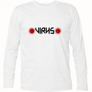 Koszulka z długim rękawem Wirus
