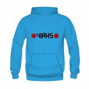 Kid's hoodie Virus