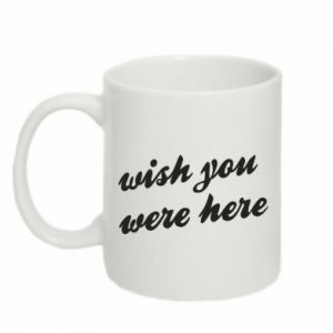 Mug 330ml Wish you were here