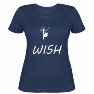 Damska koszulka Wish