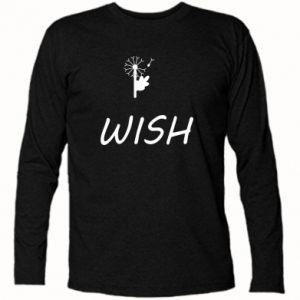 Koszulka z długim rękawem Wish