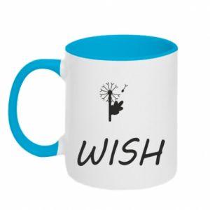Kubek dwukolorowy Wish