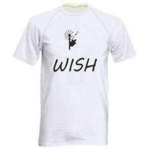 Męska koszulka sportowa Wish