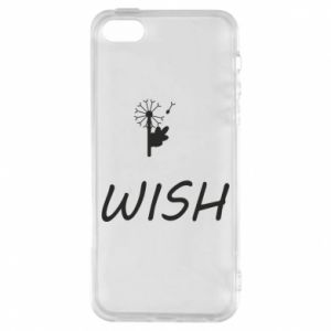 Etui na iPhone 5/5S/SE Wish