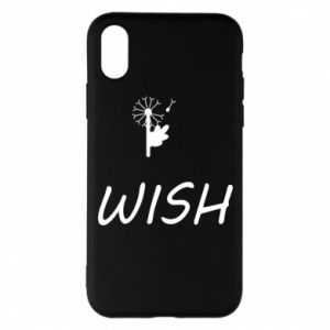Etui na iPhone X/Xs Wish