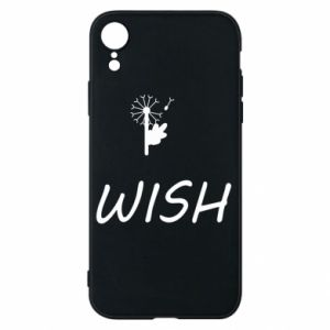 Etui na iPhone XR Wish