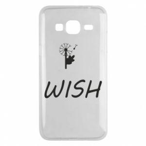 Etui na Samsung J3 2016 Wish