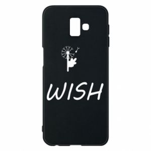 Etui na Samsung J6 Plus 2018 Wish