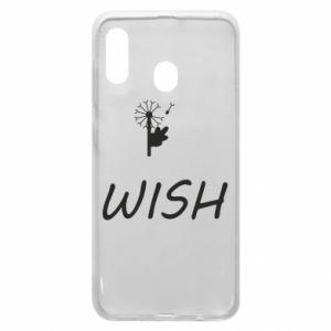 Etui na Samsung A20 Wish