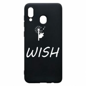 Etui na Samsung A30 Wish