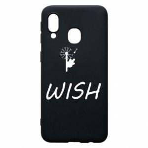 Etui na Samsung A40 Wish
