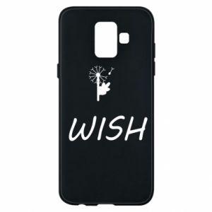 Etui na Samsung A6 2018 Wish