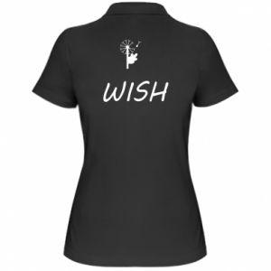 Damska koszulka polo Wish