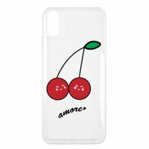 Etui na Xiaomi Redmi 9a Wiśni w miłości
