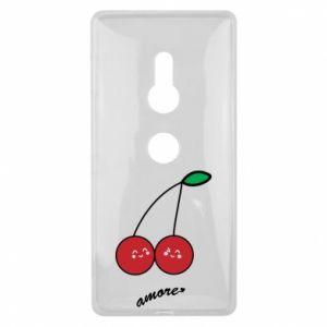 Etui na Sony Xperia XZ2 Wiśni w miłości