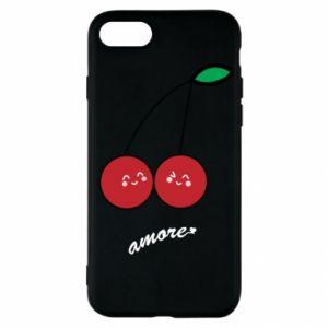 Etui na iPhone SE 2020 Wiśni w miłości
