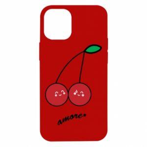 Etui na iPhone 12 Mini Wiśni w miłości