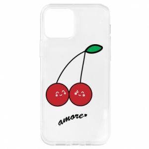 Etui na iPhone 12/12 Pro Wiśni w miłości