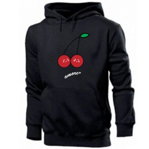 Men's hoodie Cherry lovers - PrintSalon