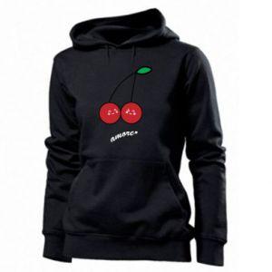 Women's hoodies Cherry lovers - PrintSalon