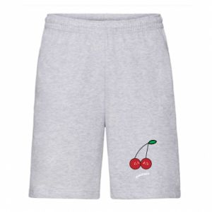 Men's shorts Cherry lovers - PrintSalon