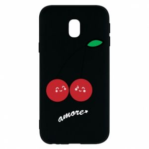 Phone case for Samsung J3 2017 Cherry lovers - PrintSalon