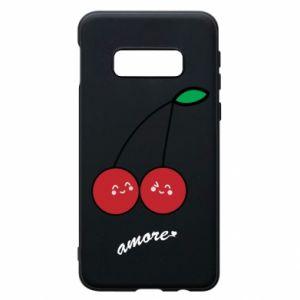 Phone case for Samsung S10e Cherry lovers - PrintSalon