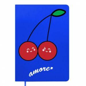 Notepad Cherry lovers - PrintSalon