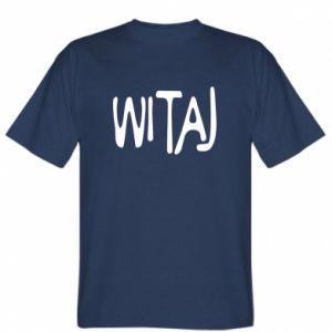T-shirt Witaj