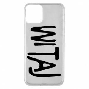Phone case for iPhone 11 Witaj