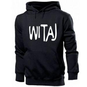 Men's hoodie Witaj