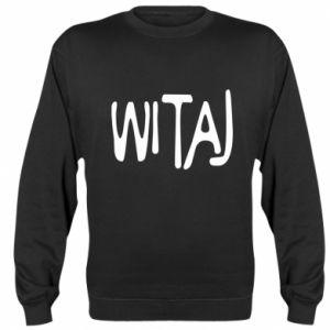 Sweatshirt Witaj