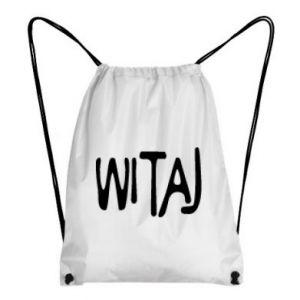 Backpack-bag Witaj
