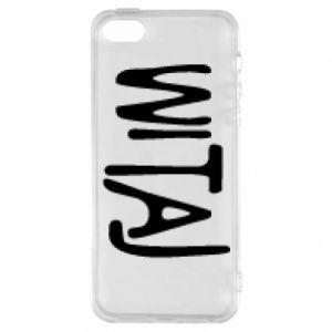 Phone case for iPhone 5/5S/SE Witaj