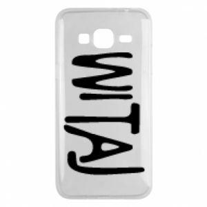 Phone case for Samsung J3 2016 Witaj