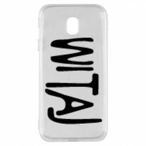Phone case for Samsung J3 2017 Witaj