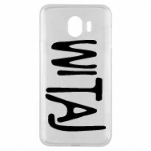 Phone case for Samsung J4 Witaj