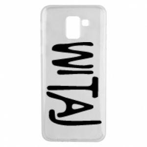Phone case for Samsung J6 Witaj