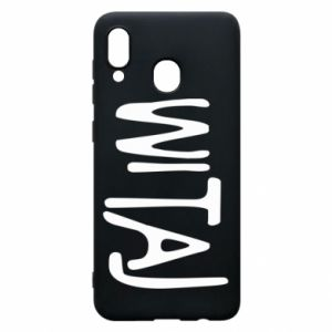 Phone case for Samsung A20 Witaj