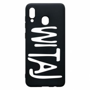 Phone case for Samsung A30 Witaj