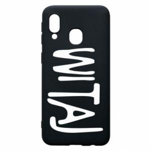 Phone case for Samsung A40 Witaj